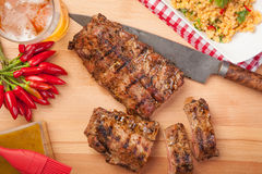Spare Ribs Stock Photography