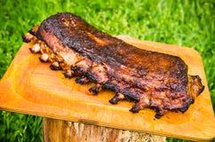 Spare ribs in the garden Stock Photos