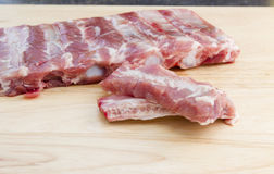 Spare ribs Royalty Free Stock Photo