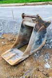 Spare shovel of an excavator Royalty Free Stock Image