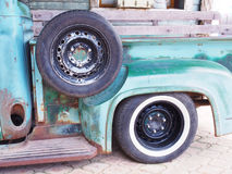 Spare tire Royalty Free Stock Image