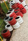 Spare tyres Royalty Free Stock Photo