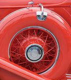 Spare wheel Stock Photography