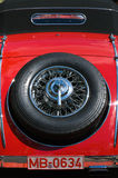 Spare wheel Mercedes-Benz 500K Special Roadster Royalty Free Stock Image