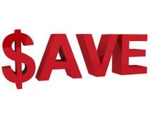 Sparen Royalty-vrije Stock Afbeelding