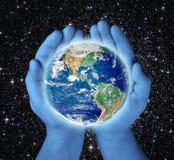 Sparen aarde Stock Afbeelding