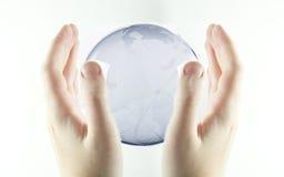 Sparen aarde Royalty-vrije Stock Afbeelding