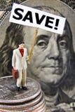 Sparen Concept Royalty-vrije Stock Afbeeldingen