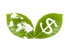 Sparen de aarde, sparen geld II Royalty-vrije Stock Fotografie