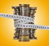 Sparen de begroting Stock Foto