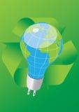 Sparen de energie Stock Foto