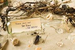 Sparen de oceaan Stock Foto