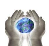Sparen de wereld Royalty-vrije Stock Afbeelding