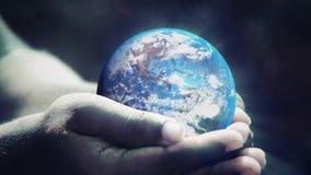 Sparen de wereld royalty-vrije illustratie