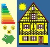 Sparen Energie en Geld Royalty-vrije Stock Foto's