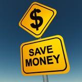 Sparen geld royalty-vrije illustratie