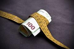 Sparen geld Stock Foto