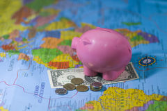 Sparen geld Royalty-vrije Stock Fotografie