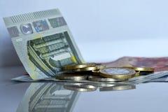Sparen geld en investeer stock fotografie