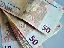 Sparen geld en investeer stock afbeelding