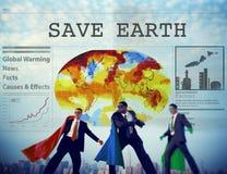 Sparen het Concept van de het Behoudsbescherming van het Aardemilieu Royalty-vrije Stock Afbeelding