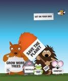 Sparen het milieu Britse wild Stock Foto's