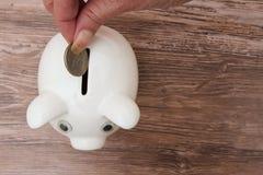 Sparen Ihres Geldes lizenzfreies stockbild