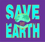 Sparen mijn aarde Stock Afbeeldingen