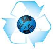 Sparen onze planeet. stock illustratie