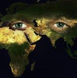Sparen planeet stock foto