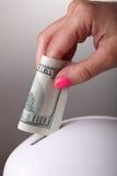 Sparen Sie Geld Lizenzfreies Stockbild