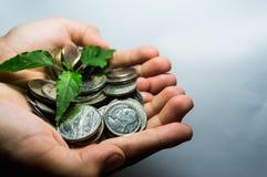 Sparen Sie Geld für Zukunft Stockbild