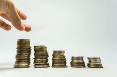 Sparen Sie Geld für Zukunft Lizenzfreie Stockbilder