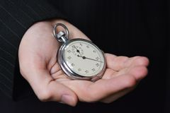 Sparen Sie Ihre Zeit Lizenzfreies Stockfoto