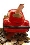 Sparen, spaarvarken Royalty-vrije Stock Afbeeldingen