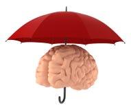 Sparen uw hersenen. Stock Foto's