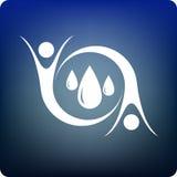 Sparen water Royalty-vrije Stock Foto's