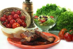 Spareribs Royalty Free Stock Images
