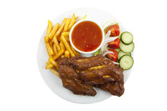 Spareribs Royalty Free Stock Photography