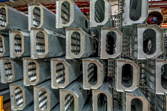 Spares at industrial plant workshop Stock Photo