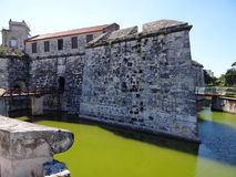 Sparga la fortezza, Avana, Cuba Fotografia Stock
