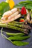 Spargel Stock Photo
