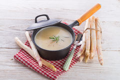 Spargel-Suppe Stockfotos