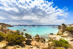 Spargi Island, Archipelago of Maddalena, Sardinia Stock Image