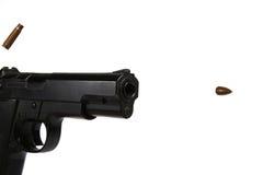 Spari la pistola fotografia stock