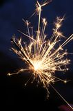 Spark. A spark from a firework Stock Photography