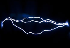 Spark discharge Royalty Free Stock Photography