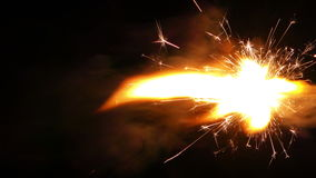 Spark Firework Background stock video