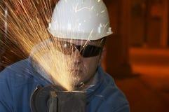 Spark grind Stock Photos