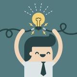 Spark idea Stock Photography